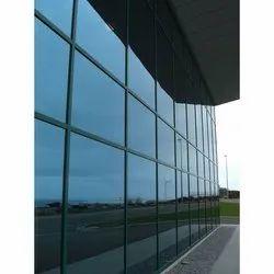 Plain Reflective Toughened Glass, Shape: Flat, Size: 8 X 14 Feet
