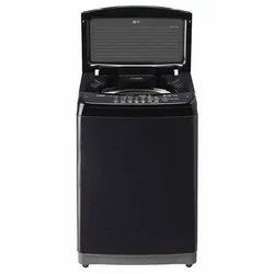 LG 7 kg Fully Automatic Top Load Washing Machine, T8081NEDLK, Black Knight