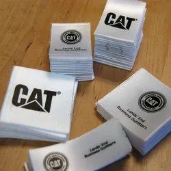 Satin Printed Label