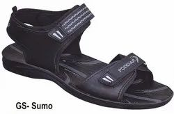 Poddar Mens PU Sandals