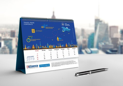 Latest Trend Computer Generated Calendar Design
