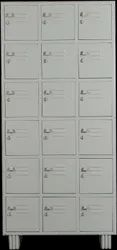 Ambika Powder Coated Safety Locker, For Industrial