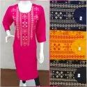 Chanderi Cotton Kurti