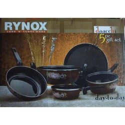 Rynox Dachi 5 Pcs Cookware Set - Induction Base