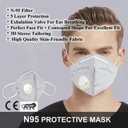 Reusable Original Branded Certified N-95 Masks, Certification: Iso- Gmp - Ce- Fda, Number of Layers: 7