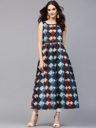 Ladies Printed Jaipuri Kurtis