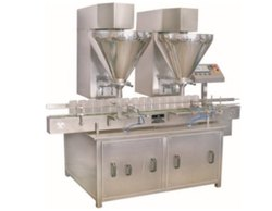 Automatic Double Hooper Auger Powder Filling Machine