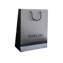 Designer Rectangular Paper Shopping Bag