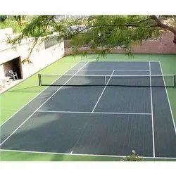 PVC Tennis Court Flooring Service