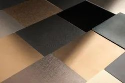 SS Colored Textured Decorative Sheets