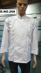 White Chef Uniform in Gabardine CC-16