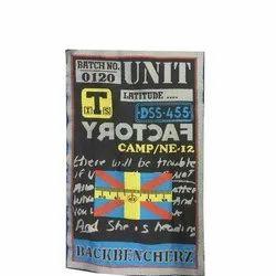 Polyster Garment woven Labels, For Garments, Packaging Type: Packet