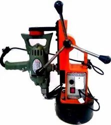 Magnetic Drill Stand Machine With Ralli Wolf Make Sd4c 13mm Drill Machine-Hl-Eco-200-High Life