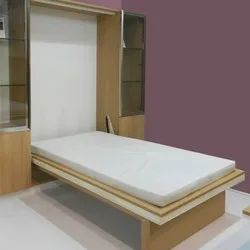 Excellenza Vertical Mechanism Single Wall Bed with Frame