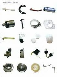 Aluminium & Rubber Parts For Speed Frame & Ring Frame