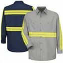 Female Cotton Industrial Safety Uniform, Size: Free Size