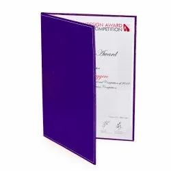 Report File Ecoleatherette Eco Friendly Economy Degree Folder, Packaging Type: Polythene Packing