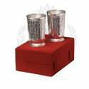 Silver Glass Gift Set