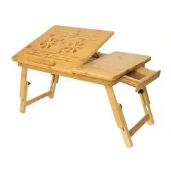 Portable Foldable Wooden Laptop Table