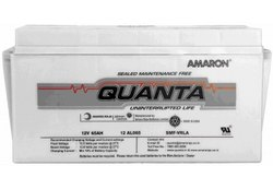 Amaron Quanta 65AH/12V SMF UPS Battery, Model Number/Name: 12al065