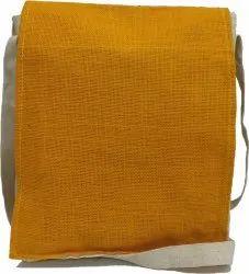 Aiesco Bags Plain Jute Sling Bag, Size: 10 X 12 Inch