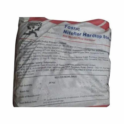 Forsoc Fosroc Nitoflor Hardtop Floor Hardener Packaging Type Bag Rs 330 Bag Id 20577685391