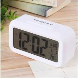 Minura Large Display Clock With Back Light (Wall / Table) Temperature Alarm
