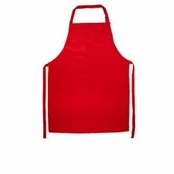 Sleeveless Chef Red Aprons, For Kitchen Usage