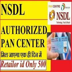 Online NSDL Authorized PAN Card Center