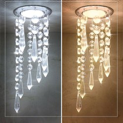 LED Modern Crystal Chandelier
