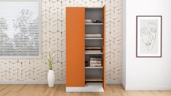 Contemporary & Modern Steel Storage Cabinet, 2, Size/Dimension: W X H X D (cm) 90 X 195 X 50.7