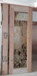 SS Gold Entique Jali Partition