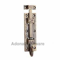 5 inches Brass Decorative Door Bolt