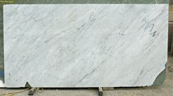 White Marble, Thickness: 15-20 mm, Slab
