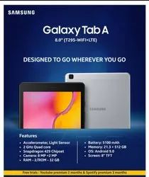 T295 Samsung Tab, Screen Size: 8inch