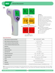 Indian Make Infrared Non Contact Thermometer