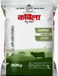 Kapila Pashu Aahar Super Pellet, Packaging Type: PP Bags