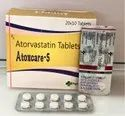 Atorvastatin 5mg Tablets (Atoxcare-5)