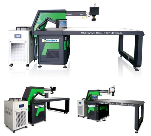 Channel Letter Laser Welding Machine, Automatic, Manual, 400-500 A