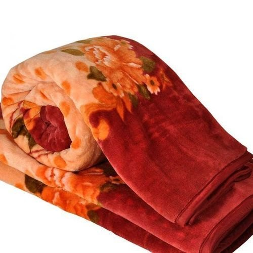 Printed Milled Single Woolen Blanket, Size: 60 X 90 Inches