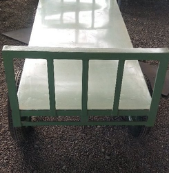Brick Carrying Hand Propelled Trolley