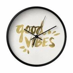 Saint Mild Steel Printed Wall Clock