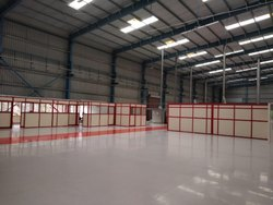Industrial Aluminum Partitions