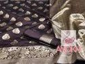 Jaqqard Silk Saree