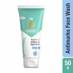 Bajaj Nomarks 50 gm Ayurvedic Antimarks Face Wash For Dry Skin