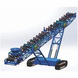 Track Mounted Hopper Feeder Conveyor
