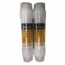 Plastic White Cruze Sediment Filter