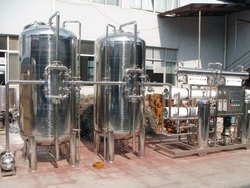SS Commercial Reverse Osmosis Plants, RO Capacity: 500-1000 Liter/hour