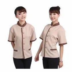 Women Restaurant Uniform, For Restaurants, Size: S-XXL