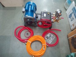 Crompton Triple Piston Pump Motor Set
